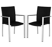 Safavieh Cordova Set of 2 Indoor/Outdoor Arm Chairs - H283255