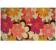 Geo Craft Flower Coir Doormat - H283855