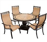 Hanover Monaco 5-Piece Outdoor Dining Set - H283955