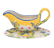 Temp-tations Figural Floral Gravy Boat - H288755