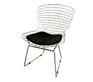 Bertoia Style Wire Side Chair - H349555