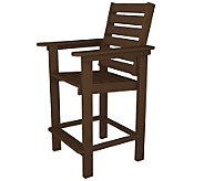 POLYWOOD Captian Counter Chair - H349855