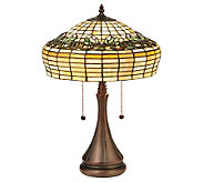 Tiffany Style 21-1/2H Duffner & Kimberly TulipTable Lamp - H350955