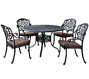 Home Styles Floral Blossom 5-pc Dining Set w/Stationary Chair - H367855