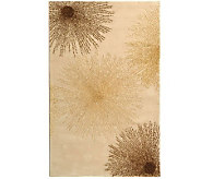 Soho 76 x 96 Abstract Handtufted Wool/Viscose Blend Rug - H178556