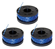 Sun Joe Replacement Trimmer Line Spools - 3 Pack - H179156