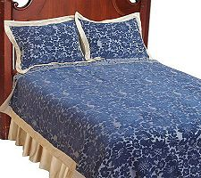 Amadeus Chenille Full Size Coverlet and Sham Set