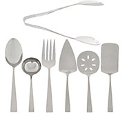 Lenox 7 pc. 18/10 Stainless Steel Serve Set - H205856