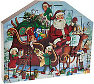 Byers Choice Santas Helper 15 Advent Calendar - H208756