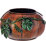 Plow and Hearth Indoor/Outdoor Pumpkin or Turkey Planter - H208956