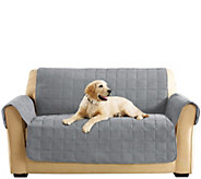 Sure Fit Furniture Cover Loveseat with Memory Foam Seat - H209456