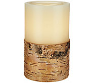 ED On Air 5 Dual Flame Wax Pillar Candle by Ellen DeGeneres - H209556