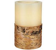 ED On Air 5 Dual Flame Wax Pillar Candle by Ellen DeGeneres - H209556