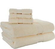 Scott Living 100Cotton Air Rich 6 Piece Towel Set - H212056