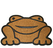 Geo Crafts Frog Coir Doormat - H284556