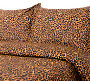 100Cotton Animal Print King Duvet Cover and Shams Set - H285056