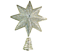 8-Point Shimmer LED Tree Topper by Brite Star - H285656