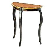 Ava Demilune Console Table - H361156