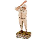 Jim Shore Heartwood Creek Baseball Player Figurine - H361756