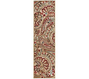 Nourison Reflections 23 x 8 Paisley MachineMade Rug - H366856