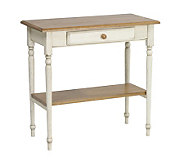 Country Cottage Solid Wood Foyer Table by Office Star - H123857