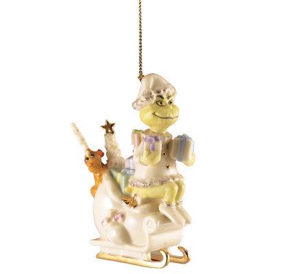 Lenox Merry Grinchmas Grinch Ornament