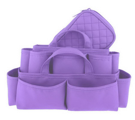 Nesting Total Bag Organizer 3-piece Set by Lori Greiner