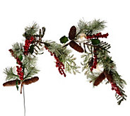 As Is Frosted Holly, Berry and Ball Wreath or Garland by Valerie - H208257