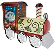 Kringle Express Illuminated Indoor/Outdoor Holiday Metal Train - H208357