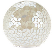 As Is Mosaic Pearl Sphere w/ Multi-Function Light by Valerie - H210257