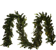 Bethlehem Lights Prelit 9 Green Garland - H212557