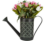 As Is Tulip Arrangement in Watering Can by Valerie - H212957