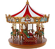 As Is Mr. Christmas Very Merry Lit & Animated Carousel - H215257
