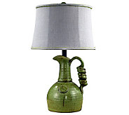 23 Green Jug Lamp by Valerie - H282357