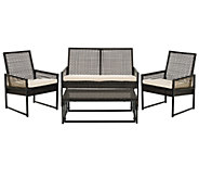 Safavieh Shawmont 4-Piece Outdoor Patio Set - H283257