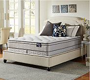 Serta Glisten Euro Top King Mattress Set - H286557