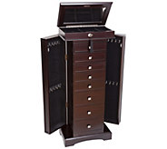 Mele & Co. Olympia Wooden Jewelry Armoire - H287857