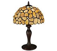 Meyda Tiffany-Style 19-1/2H Agata Yellow TableLamp - H288157