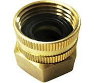 Sun Joe Dual Swivel Brass Connector 3/4 x 3/4 - H293757