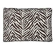 Watershed Zebra Zebra 24x32 Dog Bed - H349457
