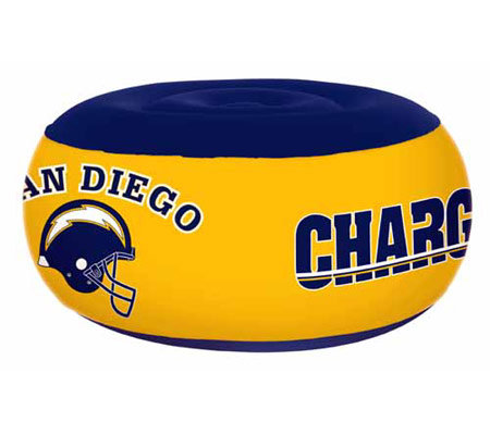 San Diego Chargers Inflatable Ottoman