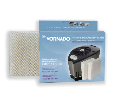Vornado Evaporative Humidifier Replacement Filter - 2 Wicks