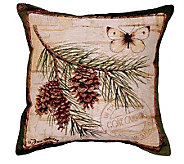 Pinecone Branch Pillow by Simply Home - H179158
