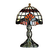 Tiffany Style 5H Baroque Micro Mini Lamp - H181358