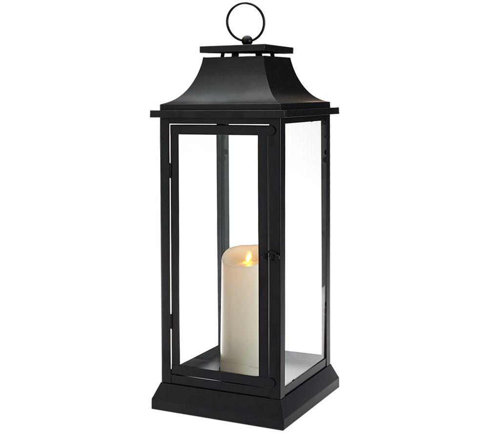 Luminara Heritage Indoor Outdoor Lantern 25 W Flameless