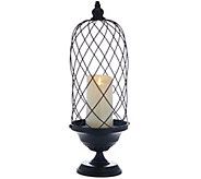 Luminara 24 Birdcage with 7 Indoor/Outdoor Candle - H207958