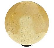 As Is 12 Oversized Illuminated Mercury Glass Sphere Valerie - H210258