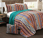 Bettina 4-Piece King Quilt Set w/ Carry Bag byLush Decor - H289658
