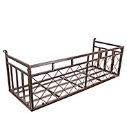Design Toscano European-Style Metal Window Box - H291658