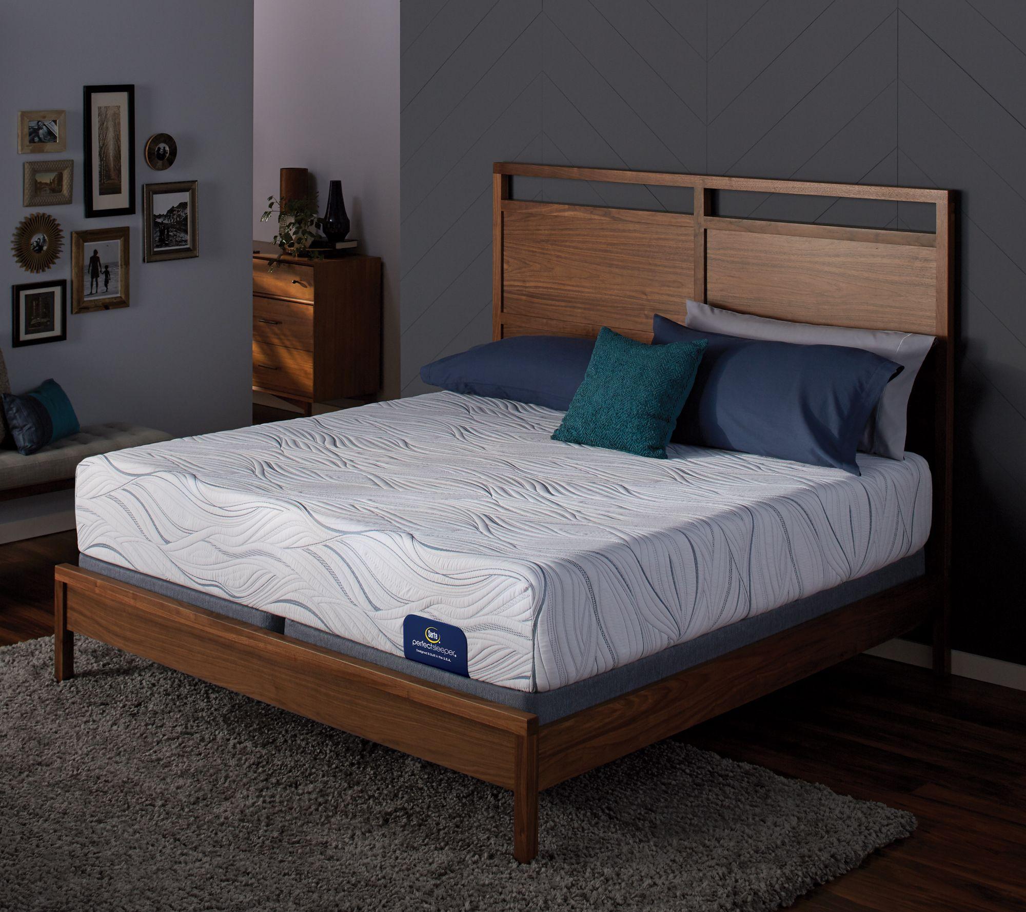 Serta Perfect Sleeper 12 Quot Gel Memory Foam Splitqn Mattress
